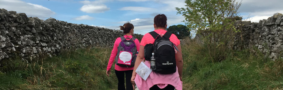 Race for Life Hikers