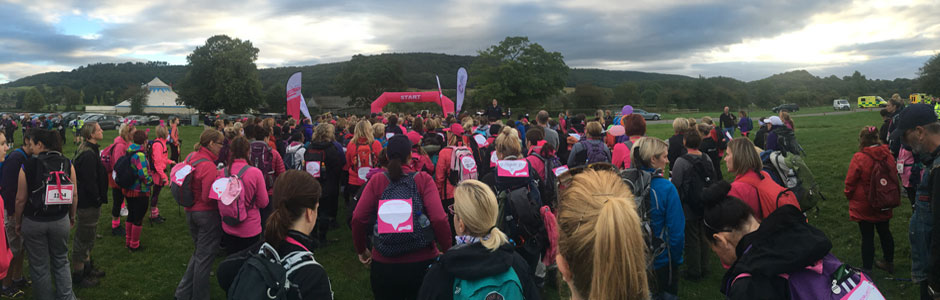 Race for Life Hiking