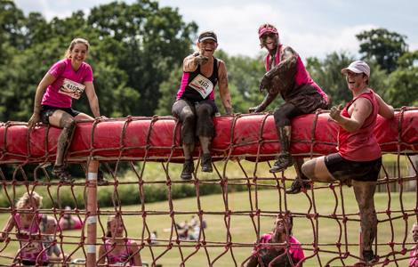 Pretty Muddy obstacles