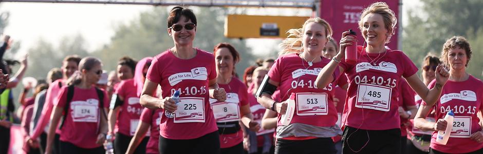 Race for Life Half Marathon