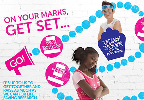 Race for Life Schools wall-chart