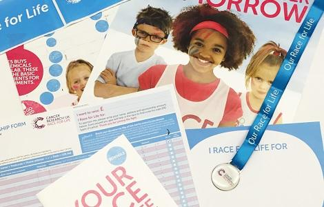 Race for Life Schools pack