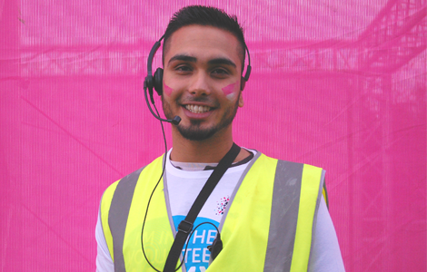 Race for Life Volunteer