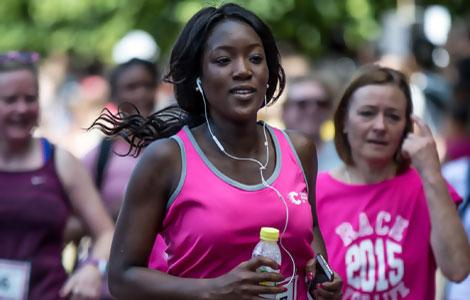 Runners at Race for Life