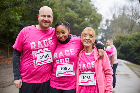 Group of Race for Life participants