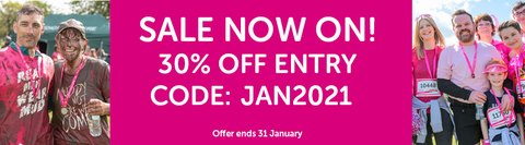 Race for Life January sale