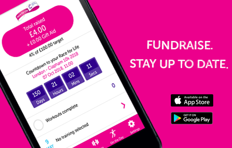 The Race for Life app