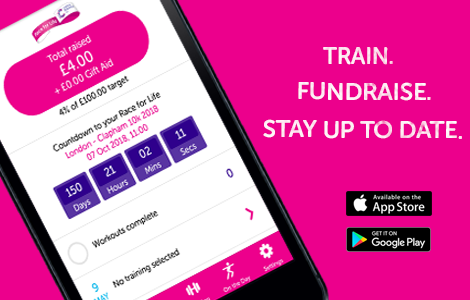 Race for Life app