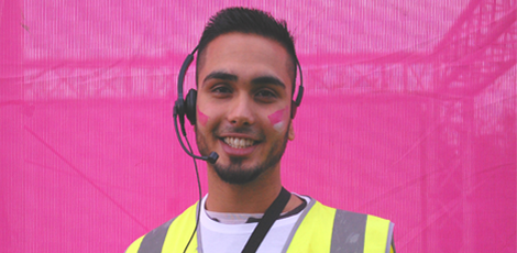 Volunteer at Race for Life