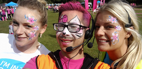 Wai-Sum, a Race for Life volunteer for 8 years