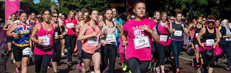 10 Race for Life event