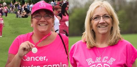 Kath Babbington at Race for Life
