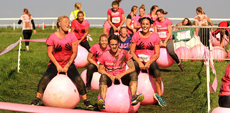 Pretty Muddy space hoppers