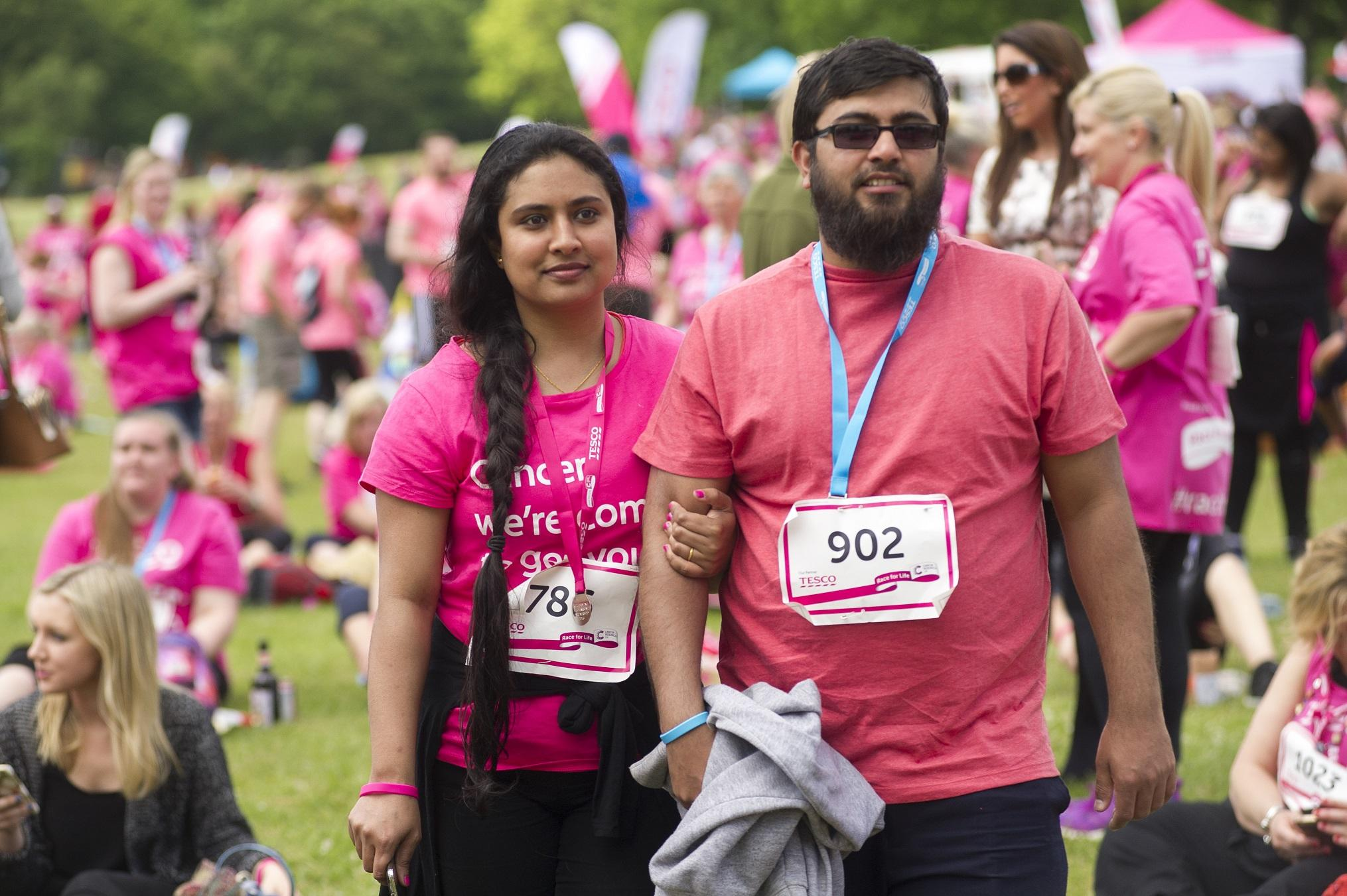 The Race for Life participants