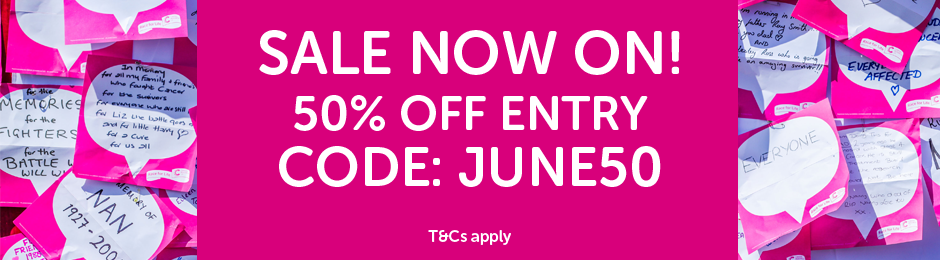 Race for Life June Sale 2019