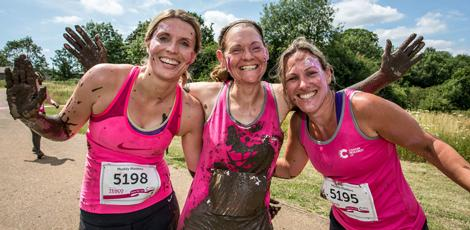 Women at a Pretty Muddy event
