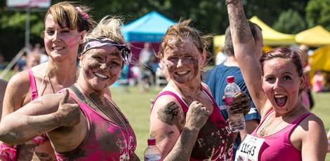 Muddy Ladies Pretty Ladies Lets get Muddy Charity Event T Shirt Pretty Muddy