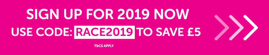 Race for Life - sign up to the 2019 event now