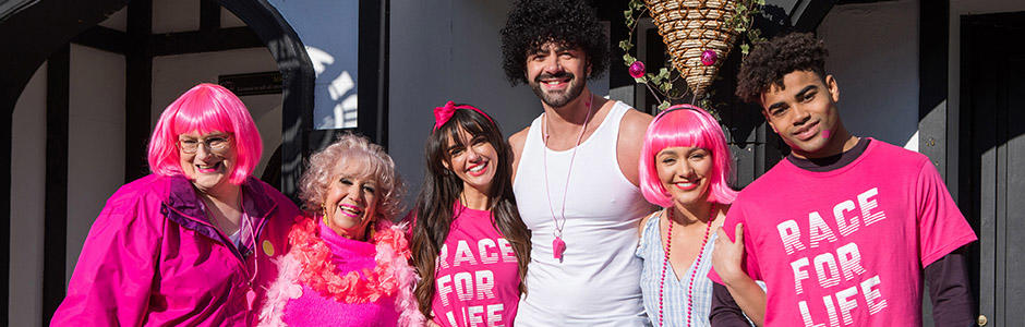 Race for Life and Hollyoaks