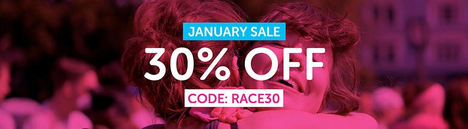 Race for Life January Sale 2018