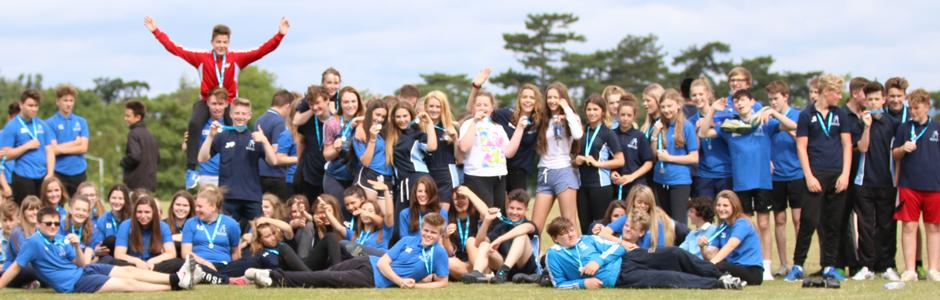 School kids at Race for Life